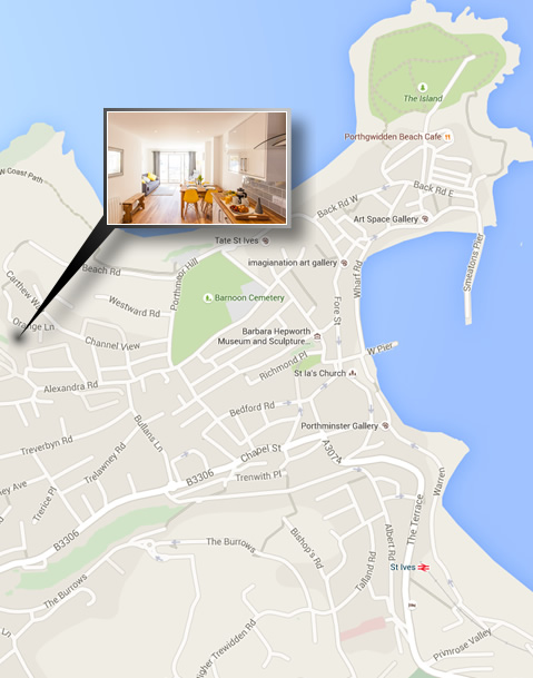 13 Carthew Court Luxury Self-Catering in St Ives