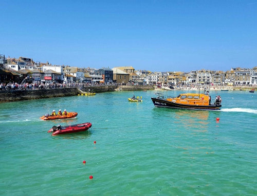 St.Ives Welcomes New Lifeboat