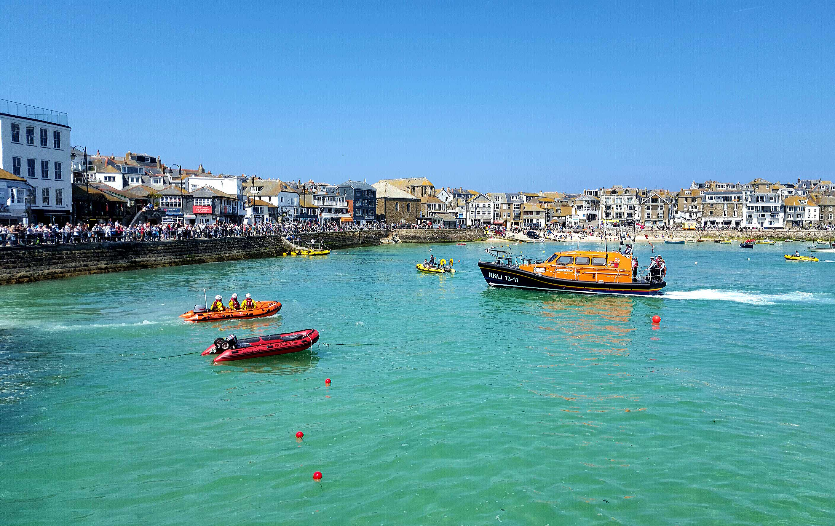St Ives Welcomes New Lifeboat Luxury St Ives Accommodation